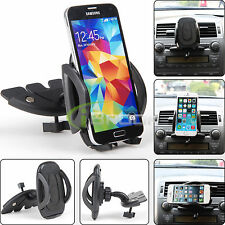 Car CD Dash Slot Mount Holder Dock For iPhone 6 5S 5 4S GPS Galaxy S6 Edge S5 S4