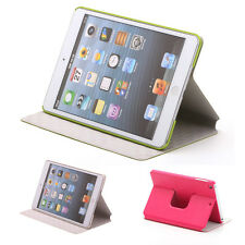 360 Rotating Leather Awake/Sleep Case Smart Cover Stand For Apple iPad Mini 1/2