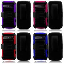 WHOLESALE LOT For ZTE Warp SYNC N9515 Heavy Duty Side Stand Holster Cover Case