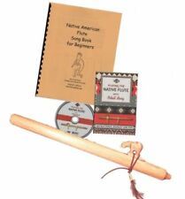 Authentic Native American Flute Beginners Kit Key A Your Choice of Animal