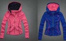 NWT Abercrombie KID GIRLS Active Full-Zip Hoodie $59, size M, L, XL