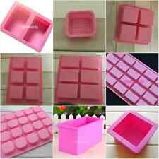 Various Rectangle Silicone Mold Chocolate Cake Mould Soap Molds Mould