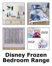 Disney Frozen Bedroom Decor Full Range -Bedding, Curtains, Stickers, Accessories