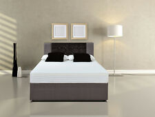 Lux orthopaedic 5cm MEMORY FOAM +POCKET SPRUNG MATTRESS UK&IKEA EU sizes Bedroom