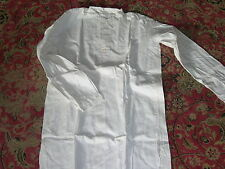 WW2 German Army Wehrmacht Early-War White Cotton Shirt Type Un-issued