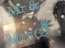 Mr and Mrs Shoe sticker wedding shoe sticker rhinestone applique Post