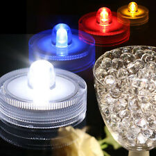 Submersible Waterproof Battery Operated LED Tea Lights Floralyte Wedding Vase
