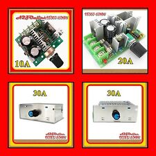 Latest Technology(PWM)DC Motor Speed Control / LED Dimmer -10A/20A/30A