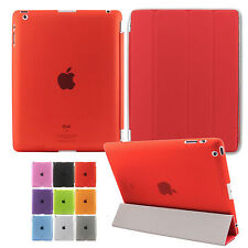 For Apple iPad Mini/Mini2 Leather Magnetic Smart Case Hard Back Cover Sleep/Wake
