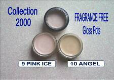 Collection 2000 Fragrance free LIP GLOSS POT 9 PINK ICE 10 ANGEL neutral natural