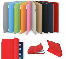 Magnetic Leather Smart Cover Hard Back Case For Apple iPad  2/3/4 generation Air