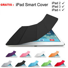 Fashion Magnetic Leather Smart Cover Hard Back Case For Apple iPad Mini 3 /Air 2