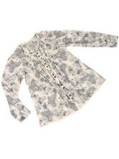 Girls NEW ex Next Butterfly Print Blouse Tunic Top-  Ages 3-10y - Lightweight
