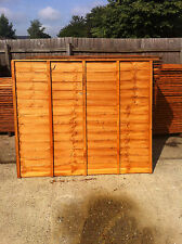 Fence Panels Various Sizes and Styles, Free Delivery available over £100