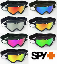 SPY OPTICS TARGA 3 BLACK SABBATH MOTOCROSS MX GOGGLES with CHROME MIRROR LENS
