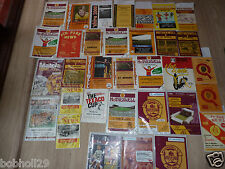 Motherwell Home Programmes  1971 onwards. Select the one(s) you require