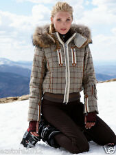 New $1800 Bogner Women's Malu-D Down Ski Jacket - Waterproof, 100% Wool Shell