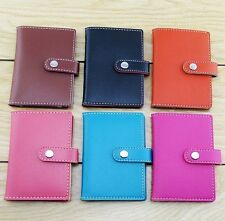 2014 New 20 Cards PU Leather Cover Credit ID Card Holder Wallet