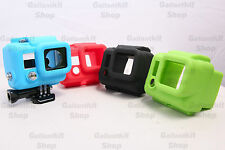 Soft Rubber Silicone Protective Dirtproof Case Cover Skin for GoPro HD Hero 3