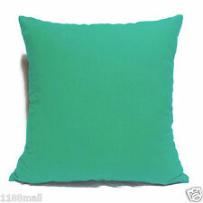 ccc-a24 LIGHT TORNADO BLUE Cotton Canvas Cushion/Pillow Cover Custom Size