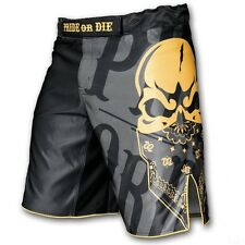 Venum Pride Or Die Reckless Black MMA Fight Shorts Training Cage UFC Fighting