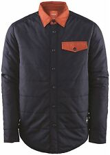32 ThirtyTwo Lakeview Woven Insulated Shirt Mens  2015 Navy