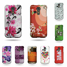 For Kyocera Hydro Vibe Phone Case - Snap On Hard Rubber Matte Shell Phone Cover