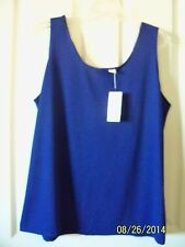 Chico's Microfiber Contemporary Tank SEE COLORS AVAILABLE Size 3 (16) New