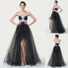 FREE SHIP Strapless Tulle Ball Gown CocktailMasquerade Evening Prom Party Dress