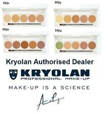 Kryolan DermaColor Camouflage Quintet Wedding Makeup Palette Tattoo Cover