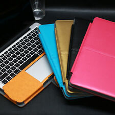 For Macbook Pro 13.3 Air 13 11 New PU Smart Leather Laptop Sleeve Bag Case Cover