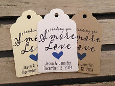 Wedding Gift Tags - Sending You S'more Love - Wedding Favor Tags - WT1451