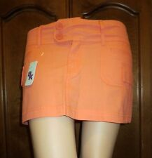Beautiful Coral Colored Cargo Skirt by BK Sizes 0, 1, 2, 3