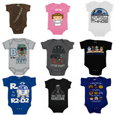 Star Wars Onesie Choose Your Design Onesey Romper Baby Costume Funny Infant New