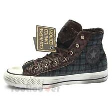 Shoes Converse All Star CT As Hi Canvas/Textile 1C14FA05 Blue Tartan LTD Fashion