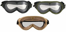 Sun Wind Dust Military Style Goggles With Extra Lense Tactical Rothco 10346