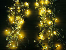 2M WARM LED Christmas XMAS Tree party string outdoor garden garland spray lights