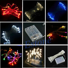 New 10/20/30-LED  Christmas Wedding Party String Fairy Lamp Light