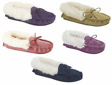 Mokkers KIRSTY Ladies Womens Suede Cosy Comfy Soft Winter Warm Moccasin Slippers