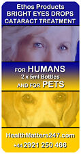 Bright Eyes Drops Cataracts Treatment - Natural Cataract Cure - Ethos Pets