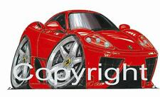 Koolart Car - Ferrari  Marinello Metal Keyring / Key Ring - 0936
