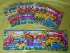 DINOSAURS PREHISTORIC JIGSAW PUZZLES - PARTY LOOT BAG TOYS - Various quantities