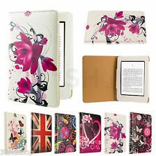 New wallet PU Leather case cover for Amazon Kindle Paperwhite Screen Protector