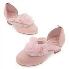 DeLuXe~AURORA~PINK+LACE+PEARLS~SHOES~Costume~Sleeping Beauty~NWT~Disney Store