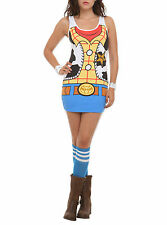 Disney Toy Story Woody  Costume Bodycon Dress Size S or L Brand New