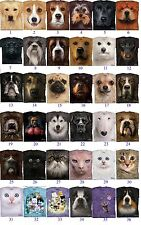 The Mountain Pet  Animal Big Face Pet Dog Or Cat Adult Men T-Shirt MADE IN USA
