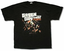 "GREEN DAY ""CHICAGO EVENT 2010"" BLK T-SHIRT NEW OFFICIAL ADULT TOUR 21ST CENTURY"