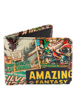 Peacocks Mens Gents Marvel Printed Wallet All Over Print Comic Books New