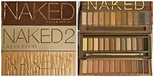 URBAN DECAY NAKED 1, 2 & 3 EYESHADOW PALLETTES BNIB VARIOUS SHADES FACTORY 2NDS