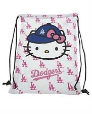 Los Angeles LA Dodgers Hello Kitty Forever Collectibles Sanrio String Backpack